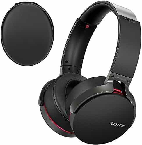 a6021b04fee Sony XB950B1 Extra Bass Bluetooth Wireless Headphones with App Control,  Black (2017 Model)