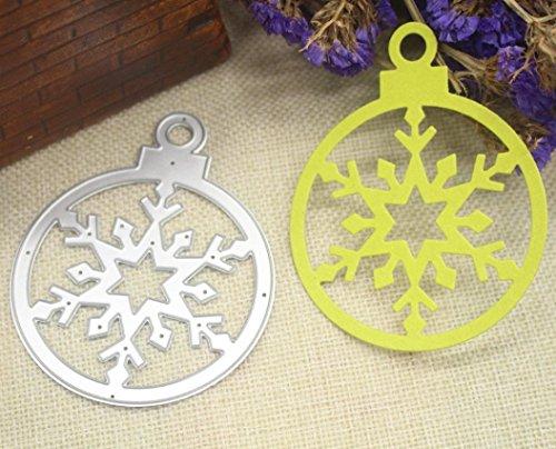 Iusun Merry Christmas DIY Metal Cutting Dies Embossing Stencils Scrapbooking Crafts Gift (C)
