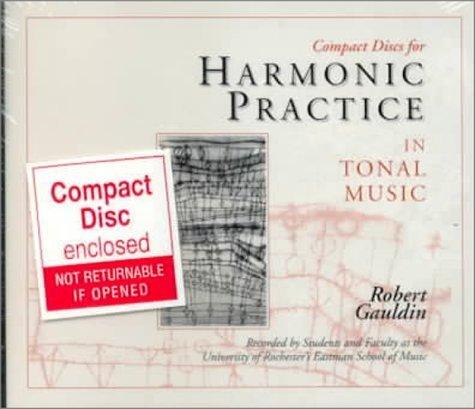 Harmonic Practice in Tonal Music by Robert Gauldin (1997-01-03)