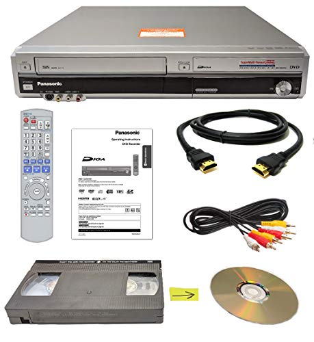 Best Price! Panasonic VHS to DVD Recorder VCR Combo w/ Remote, HDMI