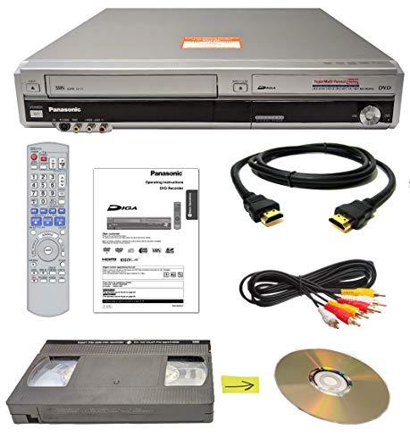 Panasonic VHS to DVD Recorder VCR Combo w/ Remote, HDMI (Vhs To Dvd Panasonic)