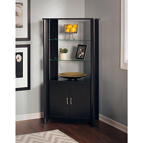 tall glass display cabinet - 9