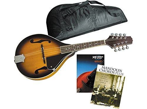 Rogue Learn-the-Mandolin Package Sunburst by Rogue