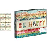 Molly & Rex File Folders 10 pc. Be Happy Patchwork by Molly & Rex