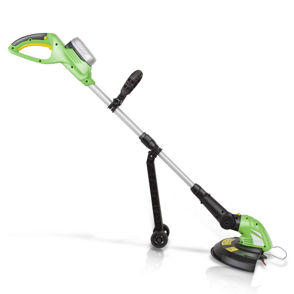 SereneLife Cordless Trimmer Weed Whacker - Electric Grass Edger String  Trimmer with 18V Rechargeable Battery, Replaceable String Cutter Blades  (PSLCGM25)- Buy Online in India at Desertcart - 27598403.