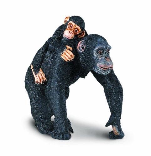 Safari Ltd  Wild Safari Wildlife Chimpanzee with Baby