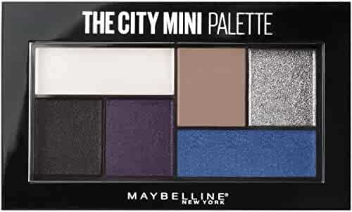Maybelline New York The City Mini Palette, Concrete Runway, 0.14 Ounce