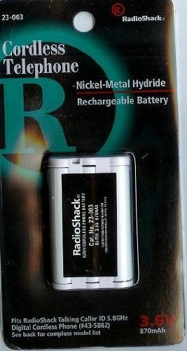 Cordless Phone Battery for Uniden phones (003 Cordless Phone Battery)