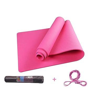 Amazon.com: DLJFU - Yoga mats Yoga Mat Fitness Mat Exercise ...
