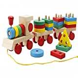 DMbaby Toys for Kids 2-5 Years Old, Classic Educational Wooden Toy Set Toys for 2-5 Year Old Boys Toys for 2-5 Year Old Girls Toys for Toddlers Gifts for 2-5 Years Old DMbabyUkDMJM04