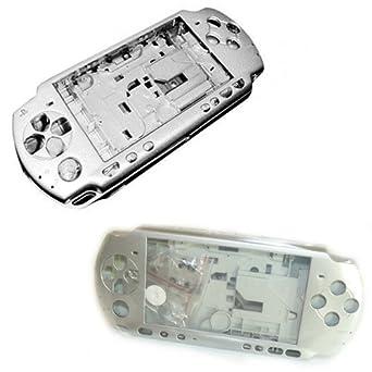 Carcasa Completa PSP 3000 Gris Plata: Amazon.es: Videojuegos