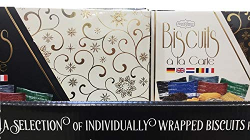 IBC Biscuits a La Carte Imported European Gourmet Biscuit Holiday Gift Box ( Packaging will be differnt )