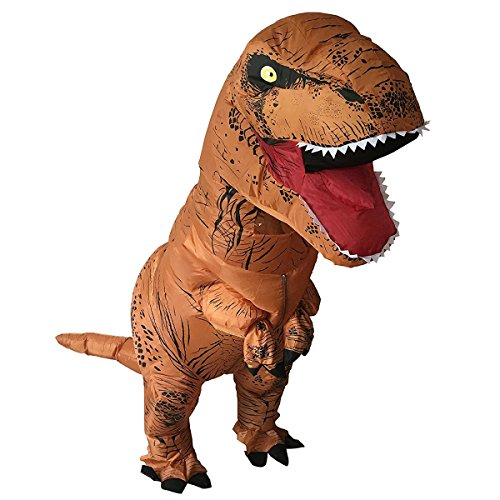 [Holybo Adult Inflatable T-rex Dinosaur Fantasy Costume Halloween Suit Cosplay] (Top Rated Costumes)