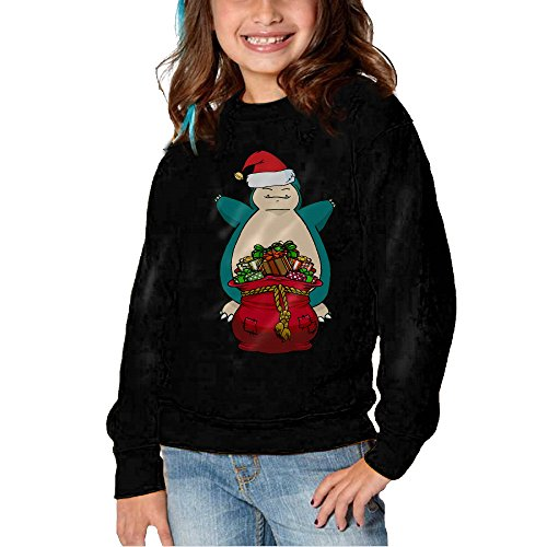 [Olha 2-6 Years Snorlax Christmas Crew Sweatshirt 2 Toddler] (Snorlax Costume Dress)