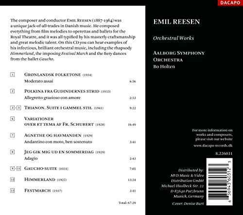 Reesen: Orchestral Works
