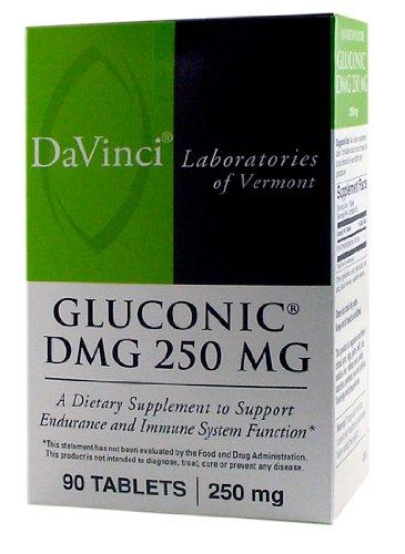 DaVinci Laboratories of Vermont Gluconic DMG Chewable, 90 (Dmg 90 Tablets)