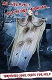 4.9Ft Halloween Hanging Ghost