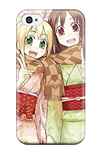 GLxVGsm1417NAAZB Unknown Anime Other Fashion Tpu 4/4s Case Cover For Iphone