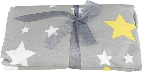 Sábanas de cuna Patrón de estrellas Cama de bebé de algodón Sábana ajustable Recién nacido Niño pequeño Protector de la cubierta del colchón para regalos de bienvenida al bebé: Amazon.es: Bebé