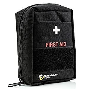 Northbound Train First Aid Kit, Fully Stocked – IFAK – Premium Contents for Tactical First Aid, Camping, Travel, and…