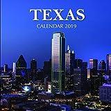 Texas Calendar 2019: 16 Month Calendar