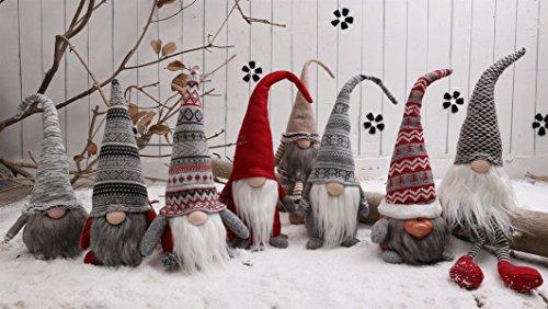 Christmas Gnomes.Ignome Handmade Christmas Gnome Decoration Swedish Figurines