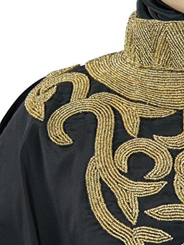 MyBatua Nayab brodé à la main noire Kaftan KF-002B