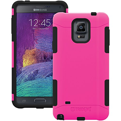 TRIDENT Samsung Galaxy Note 4 Aegis Series Case - Retail Packaging - Pink