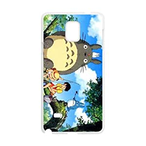 ghibli my neighbor Samsung Galaxy Note 4 Cell Phone Case White Customized gadgets z0p0z8-3636105