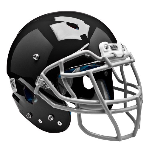 Schutt Sports Adult Vengeance DCT Football Helmet (Faceguard not Included), Black, Large (Helmet Varsity Football)