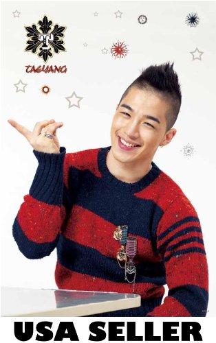 Bigbang Taeyang vert Poster white bkgrnd Big Bang Tae Yang Korean boy band Kpop