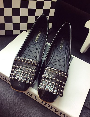 zapatos cerrado Toe red uk6 zapatos gris rojo us8 elegante Flats de eu39 negro mujer cn39 casual la PDX de tacón Classic qAw1YAz