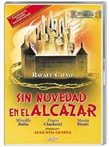 Sin Novedad En El Alcázar [DVD]