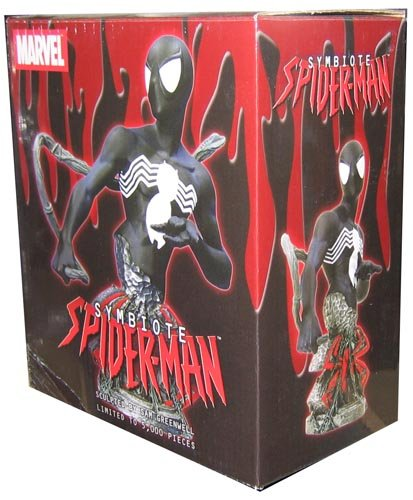Amazing Spider Man Costume Change (Spider-Man Black Symbiote Bust)