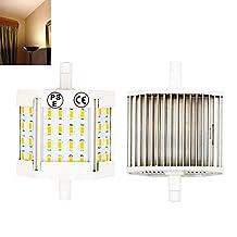 10W R7S 78mm LED Light Bulb Lustaled 120V J78 T3 LED Bulb Lamp 100W Equivalent R7S LED Floodlight Lamp for Stage Workshop Studio Floor Lamps (Warm White 3000k, 2-Pack)