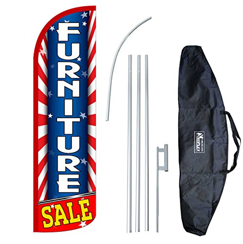 carfax-12-foot-windless-swooper-feather-flag-and-case-complete-setincludes-12-foot-flag-15-foot-pole