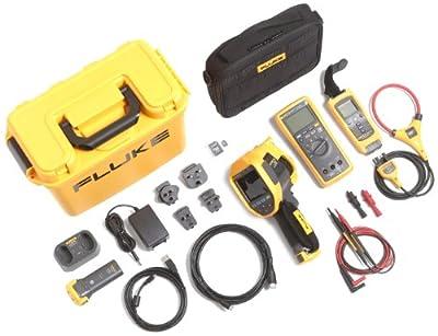 Fluke FLK-TI300 60HZ/FCA, TI300 Industrial Thermal Imager with Digital Multimeter A3001 FC IFLEX Kit