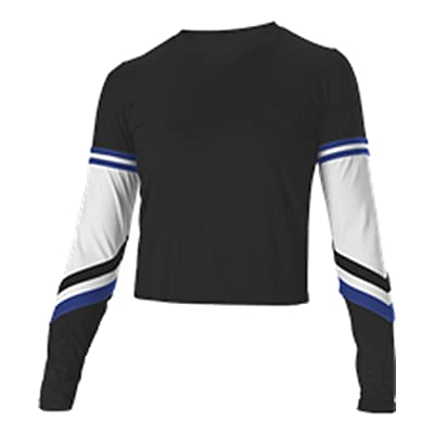 Alleson YOUTH V NECK LINER GIRLS CHEER TOP C680Y