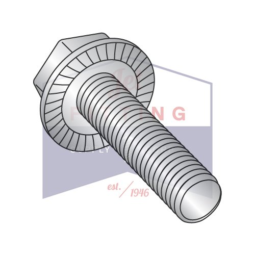 Choose Length /& Qty 5//16-18 Stainless Steel Serrated Flange Hex Cap Screw Bolt
