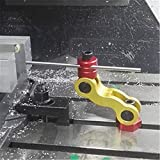 Vise stop 5 Axis movement mill work stop part locator 1/2'-12 table bolt