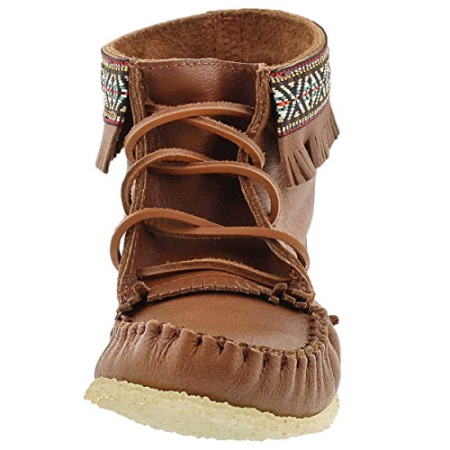 Midcut Women's Moccasin Gum SoftMoc Maple Fringe 137597 Sole Braid vRqcwBcg