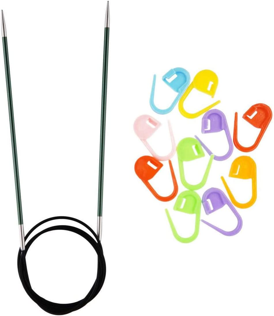 Knitter/'s Pride Metal Cable Needle-J Hook Size 2.5//3mm