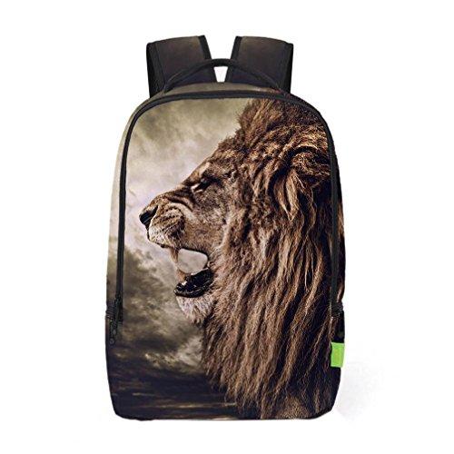 2017 Morwind Las mujeres de los hombres 3D Galaxy Viaje mochila mochila hombro bolsa Bookbag School Bag(A) (E) B