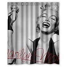 Surprised gift Marilyn Monroe Custom Shower Curtain 60 x 72 Inch Leisure