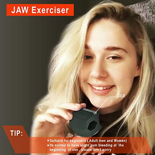CARVD Update Jaw Exerciser Jaw line define Green