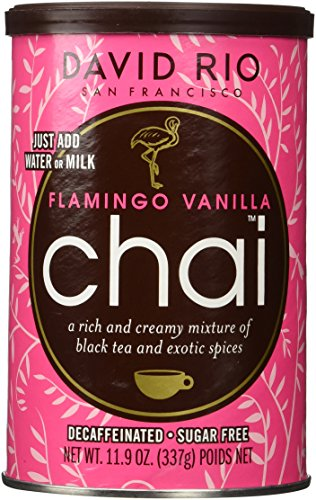 2 Canisters of Flamingo Vanilla Decaf Sugar-Free Chai, ()