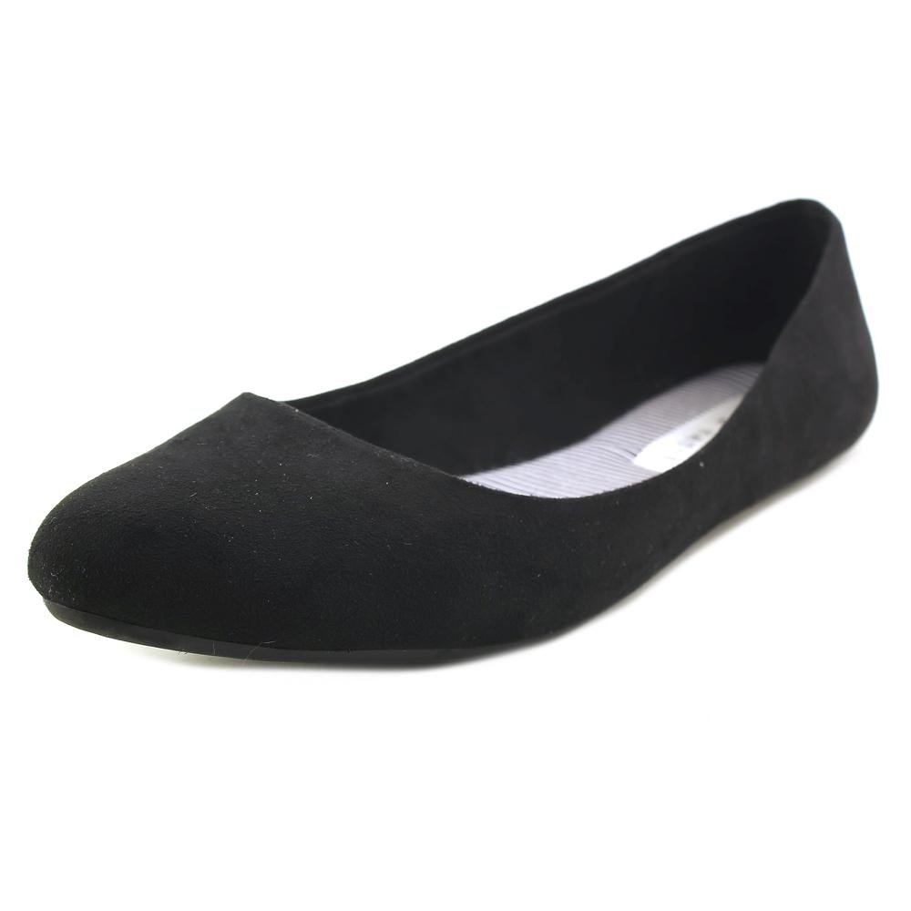 f93d8b7ba035 Kelly & Katie Pirassa Women US 8.5 W Black Flats: Amazon.ca: Shoes &  Handbags