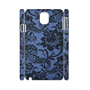 Blue Flowers Customized 3D Cover For Case Iphone 6 4.7inch Cover,custom phone case ygtg613061