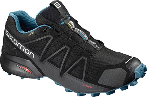 Salomon Speedcross 4 GTX Nocturne 2 Trail Running Shoes Black dpmS4