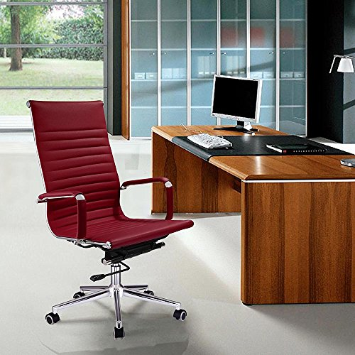 Yescom Executive Leather Computer Contemporary